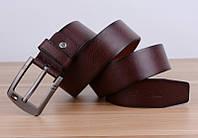 Мужской стильный кожаный ремень. Четыре цвета, фото 8