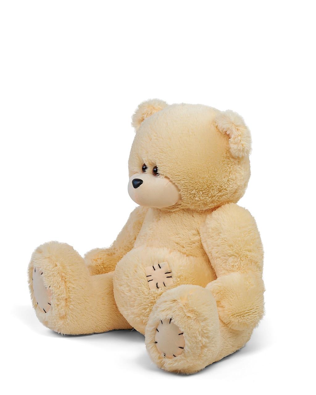 Большие мягкие игрушки Тедди 170 см цвет персик   Мишки большие   Плюшевый мишка от производителя