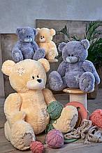 Мягкие игрушки мишка Тедди 90 см цвет персик | Плюшевые медведи | Плюшевый мишка от производителя