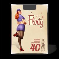 Колготки Flirty флирти женские с шортиками 40 den размер 2