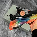 Жіночі Кросівки Balenciaga Triple S Clear Sole Black Multi, фото 4