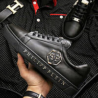 Чоловічі кросівки Philipp Plein Black, фото 1