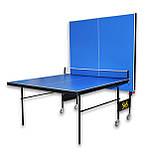 Теннисный стол складной S4S Элит, синий, фото 3