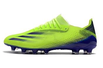 Бутсы Adidas X Ghosted.1 FG lightgreen/blue