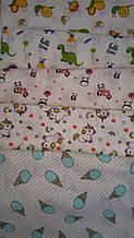 Пеленка для новорожденных ситцевая большая 100х95.