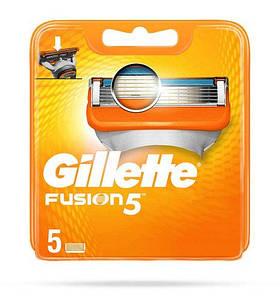 Сменные кассеты Gillette Fusion 5 (5 шт.) 01660
