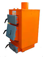 Котлы дровяные длительного горения с автоматическим блоком управления САН Эко Турбо 13 квт