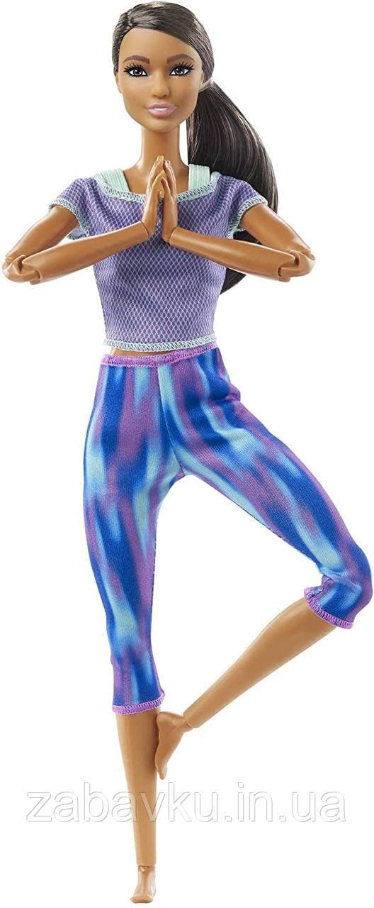 Барби йога безграничные движения Barbie Made to Move Бабрі йога брюнетка