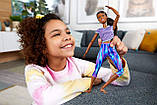 Барби йога безграничные движения Barbie Made to Move Бабрі йога брюнетка, фото 8
