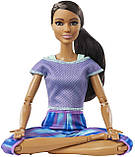 Барби йога безграничные движения Barbie Made to Move Бабрі йога брюнетка, фото 3