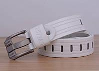 Стильный мужской кожаный ремень. Модель 04146, фото 2