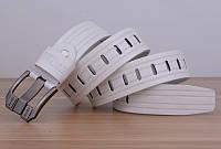 Стильный мужской кожаный ремень. Модель 04146, фото 10