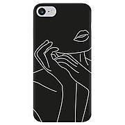 Силиконовый чехол Cool Black iPhone 7 / 8 Art
