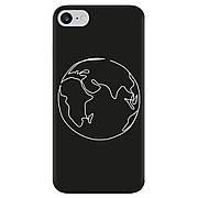Силиконовый чехол Cool Black iPhone 7 / 8 Планета