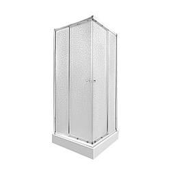 Набір Qtap душова кабіна Presto CRM1088SP5 Pear + піддон Unisquare 308815