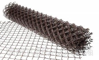Сетка Рабица 1,5* 10м.черная (35х35)