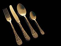 Набор столовых приборов 24 предмета ROCCO OLD GOLD Nº 8