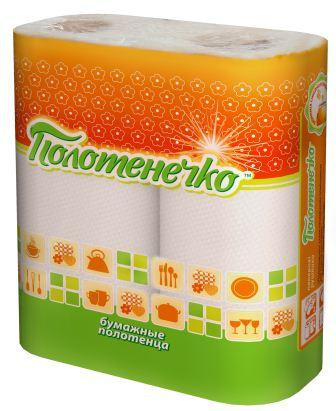 "RUTA Бумажные полотенца ""Полотенечко"" 2 рулона"