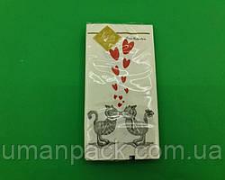 Красивая салфетка (ЗЗхЗЗ, 10шт) Luxy MINI Кошачья любовь (2030) (1 пач)