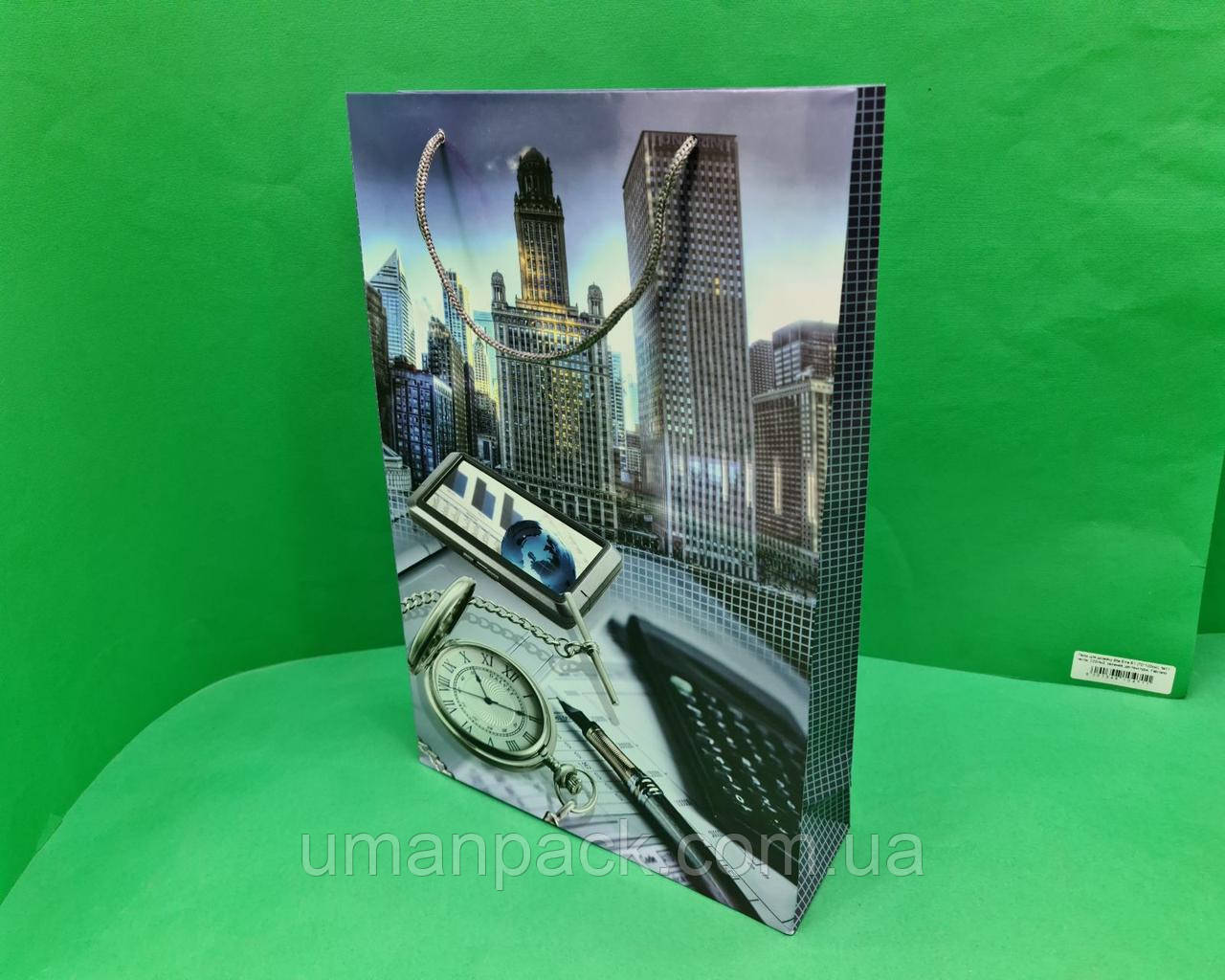 Пакети паперові великий вертикальний 25/37/8(артBV-046) (12 шт)