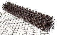 Сетка Рабица 1,5* 10м. Черная (50х50)d-1.4мм