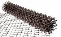 Сетка Рабица 1,5* 10м. Черная (60х60) d-1,4мм