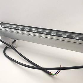 Светодиодная линейка RGB 12Вт 24В с DMX управлением (12 х 1Вт) IP65 50x5x5 см