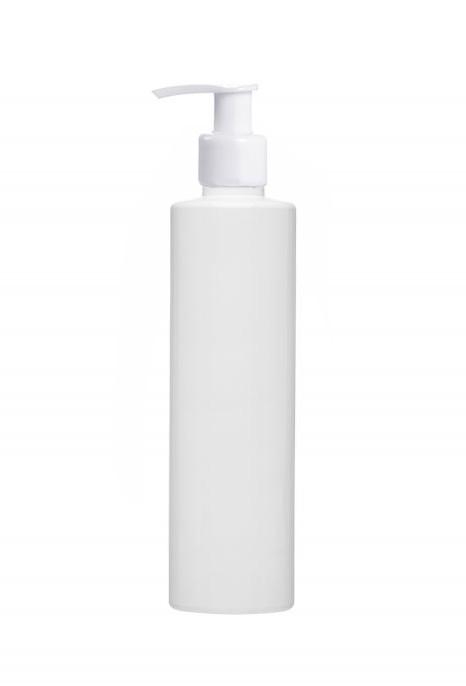 Флакон 250 мл белый с белым дозатором 24/410 (бутылочка, дозатор)