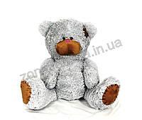 Плюшевый медведь (Тедди 3) серый 110 см