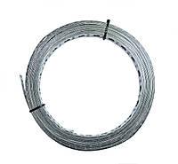 Перфолента металлическая 18 мм, толщина 0,5 мм, (рулон 5/10 м)