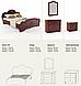 Спальня Каролина орех, фото 8