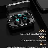 Беспроводные сенсорные наушники AirPlus TWS S15 Mini, Bluetooth 5,0 + встроенный Power Bank
