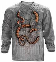 3D футболка с длинным рукавом The Mountain 453011 Boa Constrictor