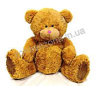 Плюшевый медведь (Тедди 3) коричневый 110 см