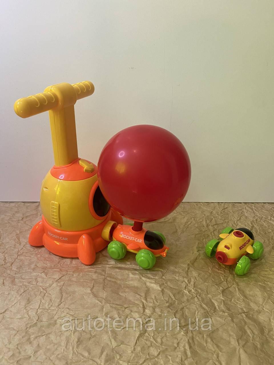 Машинка с шариками воздушные гонки