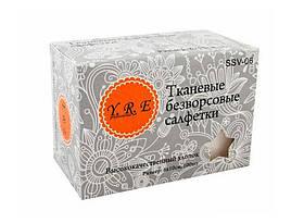 Серветки безворсові 6х6 см Doily® (800 шт в тубусі) зі спанбонду 25 г/м2 Колір: різнокольорові