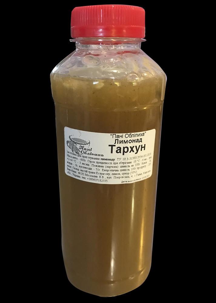 """Лимонад """"Тархун"""", заготовка 0,6 кг, ПЕТ"""