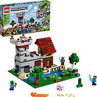 Конструктор Лего Майнкрафт 21161 верстак 3.0 LEGO Minecraft The Crafting Box 564 детали Уценка