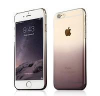 """Чехол силиконовый Ультратонкий Epik Gradient Black для iPhone 6/6S (4,7"""") Прозрачный"""