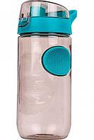 Спортивная бутылка для воды 560 мл. Пластик. Плотное закрытие Power Play Серый