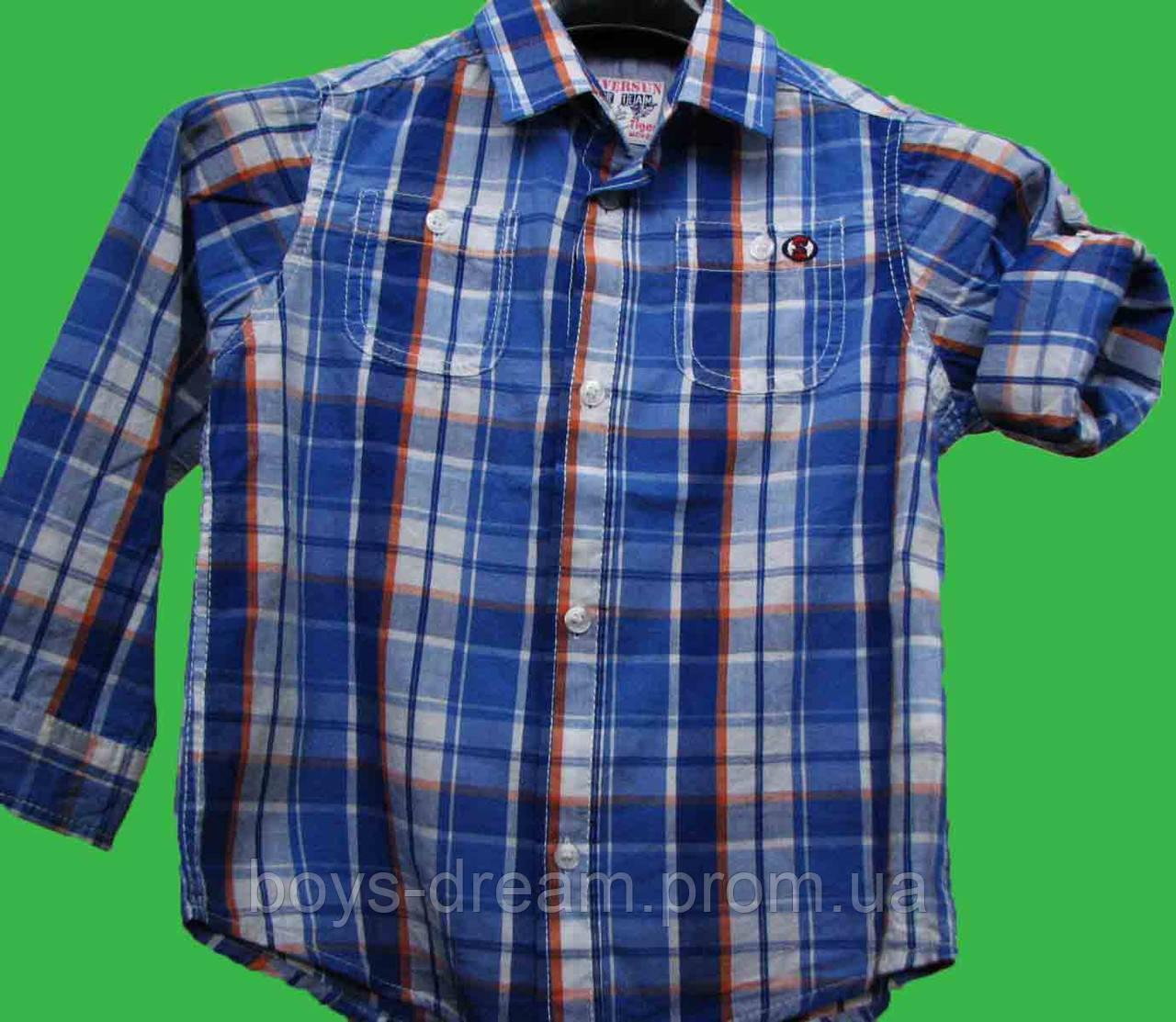 Рубашка для мальчика 122 Турция