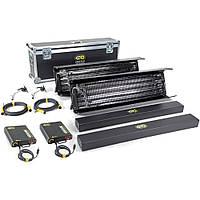 Kino Flo Gaffer 4' 4Bank, 2-Light Kit (120U) (KIT-2GF-120U)