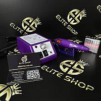 Фрезер для маникюра Lina 2000 12W/20 000 об/мин в фиолетовом цвете