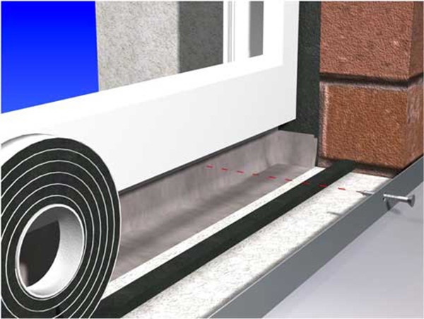 Уплотнительные ленты (псул) - паропроницаемая саморасширяющаяся уплотнительная лента