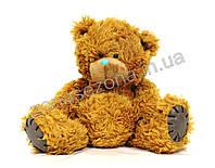 Плюшевый медведь (Тедди 1) коричневый 52 см