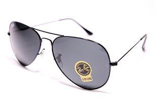 Легендарные солнцезащитные очки в стиле Ray Ban Aviator, очки авиаторчерные линза стекло