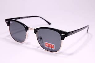 Легендарные солнцезащитные очки в стиле Ray Ban Clubmaster, очки клабмастер унисекс