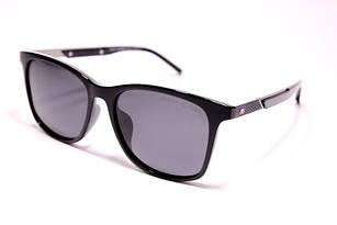 Солнцезащитные очки Tommy Hilfiger черные с поляризацией (реплика)