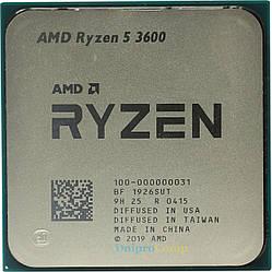Процессор AMD Ryzen 5 3600 3.6(4.2)GHz 32MB sAM4