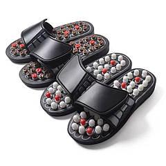 Шлёпанцы мужские массажные акупрессурные сандали 38-45